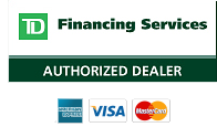 AmEx, Visa, Mastercard Accepted